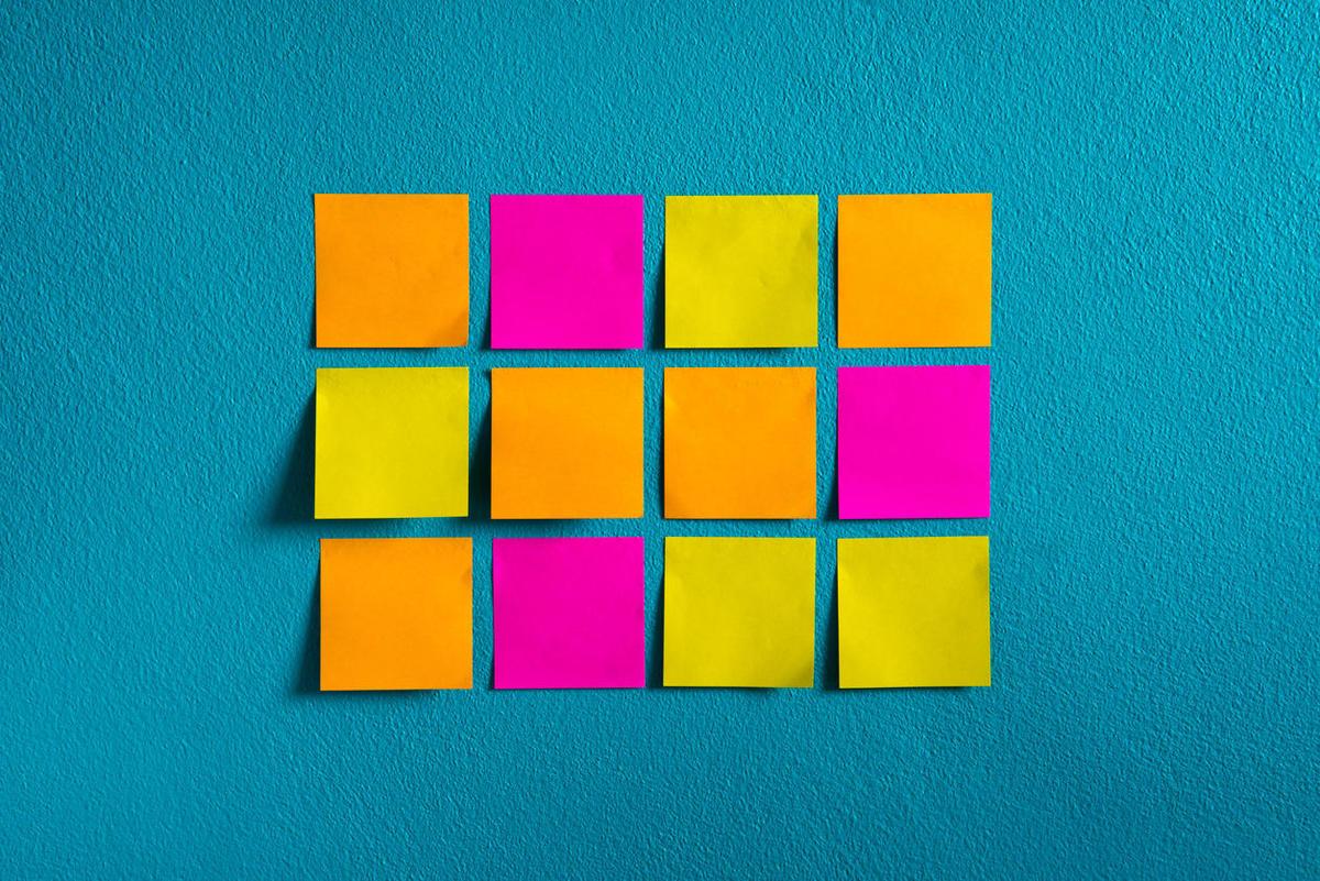 Jak kolory pomagają w planowaniu
